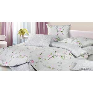 Комплект постельного белья Ecotex Евро, сатин, Эдельвейс (КГЕЭдельвейс) арминэ ваниковна акопян эдельвейс