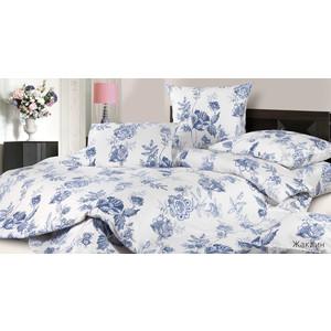 Комплект постельного белья Ecotex 2-х сп, сатин, Жаклин (КГМЖаклин) комплект постельного белья ecotex 2 х сп поплин портленд кпмпортленд