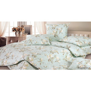 Комплект постельного белья Ecotex 2-х сп, сатин, Маркиза (КГММаркиза) комплект постельного белья ecotex 2 х сп сатин кардинал кгмкардинал