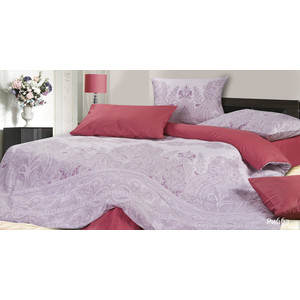 Комплект постельного белья Ecotex 2-х сп, сатин, Рибба (КГМРибба)