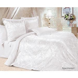 Комплект постельного белья Ecotex Евро, сатин-жаккард, Бриллиант (КЭЕБриллиант) комплект постельного белья ecotex 2 х сп сатин жаккард джульетта кэмджульетта