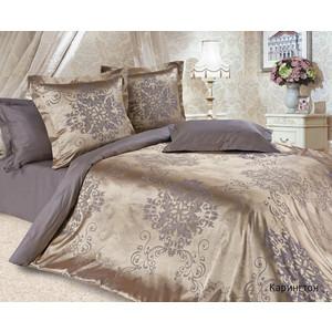 Комплект постельного белья Ecotex 2-х сп, сатин-жаккард, Карингтон (КЭМКарингтон) комплект постельного белья ecotex 2 х сп сатин кардинал кгмкардинал