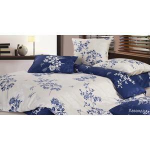 Комплект постельного белья Ecotex 1,5 сп, сатин, Лаванда (КГ1Лаванда) комплект постельного белья ecotex 1 5 сп сатин флоренция кг1флоренция