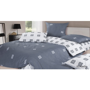 Комплект постельного белья Ecotex Семейный, сатин, Коломбо (КГДКоломбо)