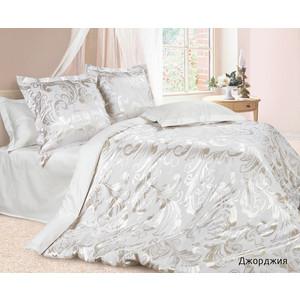 Комплект постельного белья Ecotex Евро, сатин-жаккард, Джорджия (КЭЕДжорджия) комплект постельного белья ecotex 2 х сп сатин сюссан кгмсюссан