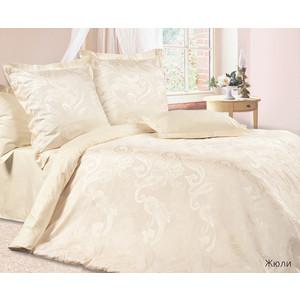 Комплект постельного белья Ecotex 2-х сп, сатин-жаккард, Жюли (КЭМЖюли) комплект постельного белья ecotex 2 х сп поплин портленд кпмпортленд