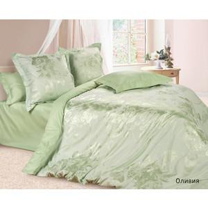 Комплект постельного белья Ecotex Евро, сатин-жаккард, Оливия (КЭЕОливия) комплект постельного белья ecotex 2 х сп сатин сюссан кгмсюссан