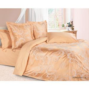 Комплект постельного белья Ecotex Семейный, сатин-жаккард, Николетта (КЭДНиколетта)