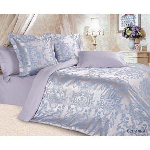 Комплект постельного белья Ecotex Евро, сатин-жаккард, Севилья (КЭЕСевилья) все цены