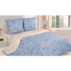 Комплект постельного белья Ecotex 1,5 сп, поплин, Аванти (КП1Аванти) комплект постельного белья ecotex 2 х сп сатин сюссан кгмсюссан