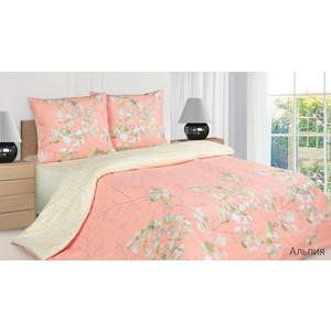 Комплект постельного белья Ecotex 1,5 сп, поплин, Альпия (КП1Альпия) комплект постельного белья ecotex 2 х сп поплин портленд кпмпортленд