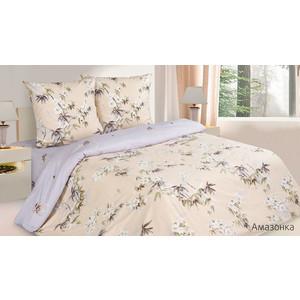Комплект постельного белья Ecotex 1,5 сп, поплин, Амазонка (КП1Амазонка)