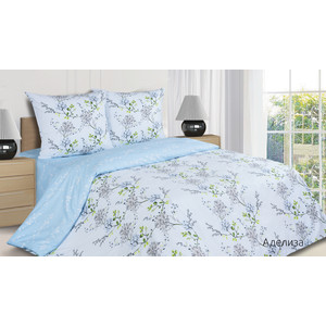 Комплект постельного белья Ecotex 2-х сп, поплин, Аделиза (КПМАделиза) комплект постельного белья ecotex 2 х сп сатин персей кгмперсей