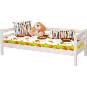 Детская кровать Мебельград Соня с задней защитой вариант 2