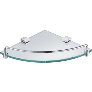 Полочка стеклянная угловая Timo Selene (10073/00 chrome)