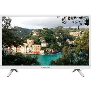 LED Телевизор Thomson T24E20DH-01W телевизор 24 thomson t24e20dh 01w белый 1366x768 hdmi vga scart usb