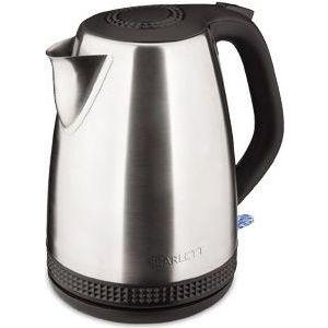 Чайник электрический Scarlett SC-EK21S46 серебристый/черный чайник электрический scarlett sc ek21s02