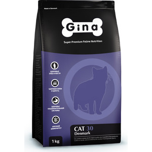 Сухой корм Gina Denmark CAT 30 с курицей и рисом для взрослых кошек 7,5кг (080117.2) hongnor ofna x3e rtr 1 8 scale rc dune buggy cars electric off road w tenshock motor free shipping