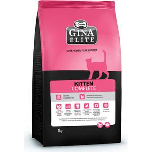 Фотография товара сухой корм Gina Elite KITTEN Complete с курицей, рыбой и рисом для котят 3кг (160013.4) (663302)