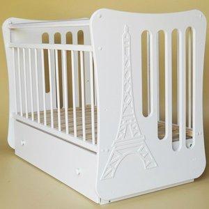 Островок уюта Кровать детская Вояж маятник поперечный с ящ, (белый) островок уюта кровать детская виола маятник поперечный с ящ белый