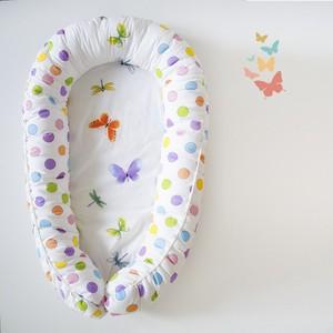 By Twinz Гнёздышко для малыша Babynest Бабочки