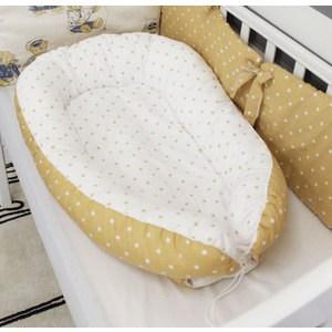 Фотография товара by Twinz Гнёздышко для малыша Babynest Горчичный горох (663544)