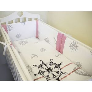 Комплект в кроватку By Twinz 6 пр. Морской Бриз КЛАССИКА by twinz комплект в кроватку 6 пр джунгли классика