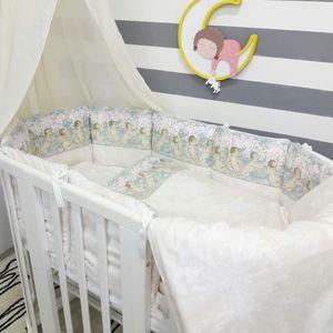 Комплект для круглой кроватки By Twinz Ангелы