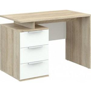 Письменный стол ВасКо ПС 40-17 дуб сонома/бел/бел
