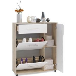 Тумба СОКОЛ ТП-4 дуб сонома/белый комплект офисной мебели сокол сокол р белый