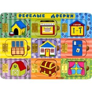 Фотография товара набор Alatoys Бизиборд Веселые дверки (бб204) (663993)