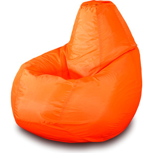 Кресло-мешок Груша Пазитифчик Бмо5 оранжевый мягкие кресла пазитифчик мешок мяч экокожа 90х90