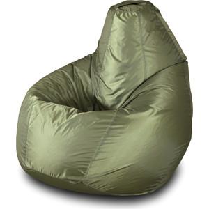 Кресло-мешок Груша Пазитифчик Бмо5 хаки мягкие кресла пазитифчик мешок мяч экокожа 90х90