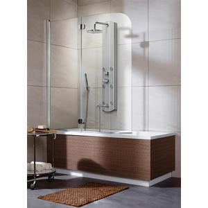 Шторка на ванну Radaway EOS PND 130/L, 1300x1520 (205202-101L) стекло прозрачное