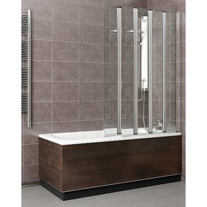 Шторка на ванну Radaway EOS PNW5, 1070x1520 (205501-101) стекло прозрачное