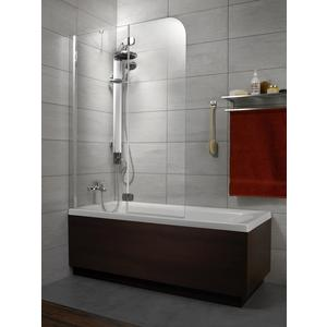 Фотография товара шторка на ванну Radaway Torrenta PND/L, 1010x1500 (201202-101NL) стекло прозрачное (664046)