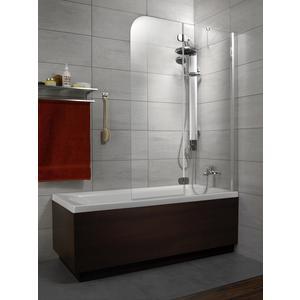 Фотография товара шторка на ванну Radaway Torrenta PND/R, 1010x1500 (201202-105NR) стекло графит (664049)