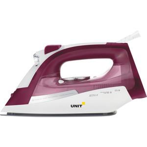 где купить  Утюг UNIT USI-285 вишневый  дешево