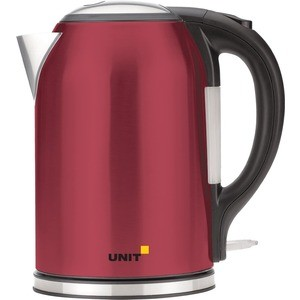 Чайник электрический UNIT UEK-270 красный чайник электрический unit uek 263 черный