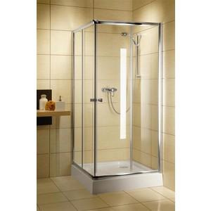 Душевой уголок Radaway Classic С 185, 90x90 (30050-01-01) стекло прозрачное