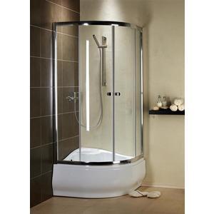 Фотография товара душевой уголок Radaway Premium Plus A 170, 80x80 (30411-01-01N) стекло прозрачное (665048)