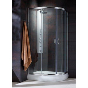 Душевой уголок Radaway Premium Plus E 190, 90x80 (30492-01-01N) стекло прозрачное бинокль galileo 10–90x80