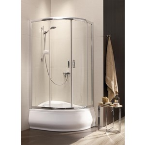 Душевой уголок Radaway Premium Plus E 170, 120x90 (30483-01-01N) стекло прозрачное tta129 120x90