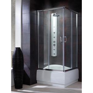 Душевой уголок Radaway Premium Plus C, 80x80 (30461-01-01N) стекло прозрачное душевой уголок radaway classic a 170 80x80 30011 01 06 стекло фабрик