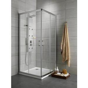 Душевой уголок Radaway Premium Plus D, 80x90 (30437-01-01N) стекло прозрачное душевой уголок radaway premium plus d 80x90 30437 01 01n стекло прозрачное