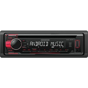 Автомагнитола Kenwood KDC-151RY автомагнитола kenwood kdc 151ry usb mp3 cd fm 1din 4х50вт черный