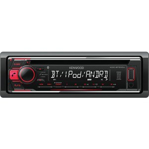 Автомагнитола Kenwood KDC-BT510U автомагнитола kenwood kdc x5200bt usb