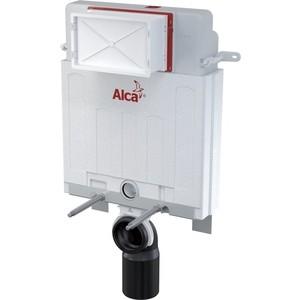 Инсталляция для унитаза AlcaPlast Alcamodul для замуровывания в стену 0,85 м (AM100/850) инсталляция для унитаза alcaplast solomodul усиленная 1 12 м am116 1120