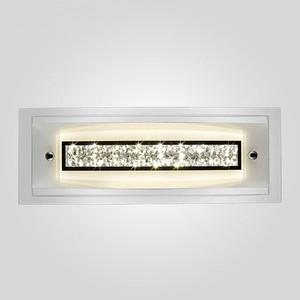Настенный светодиодный светильник Eurosvet 90024/1 хром настенный светодиодный светильник eurosvet хай тек 90020 1 хром