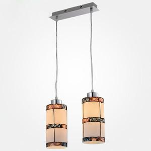 Подвесной светильник Eurosvet 50043/2 хром бра 2275 2 хром 2275 eurosvet 1045413